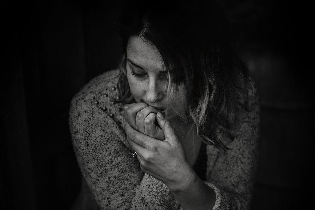 anxiety woman ssdi
