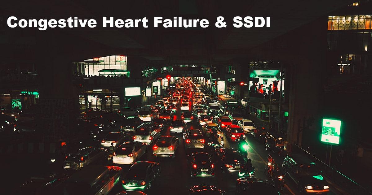 congestive heart failure ssdi