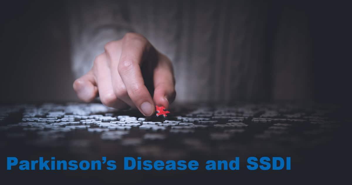 parkinson's disease ssdi