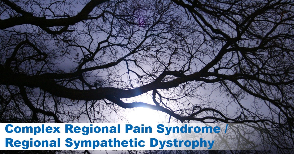 Complex Regional Pain Syndrome and ssdi